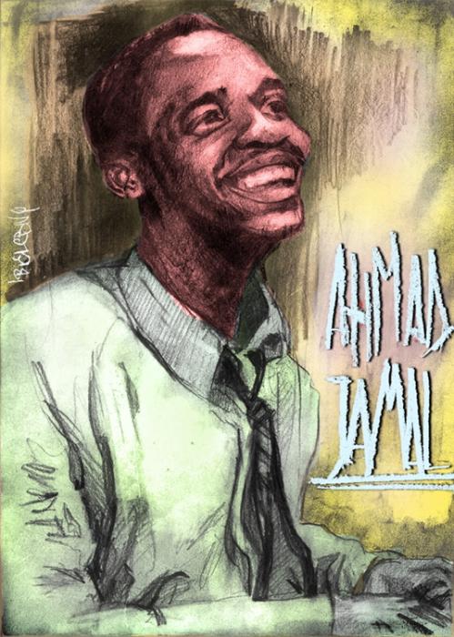 Ahmad Jamal by Bielu
